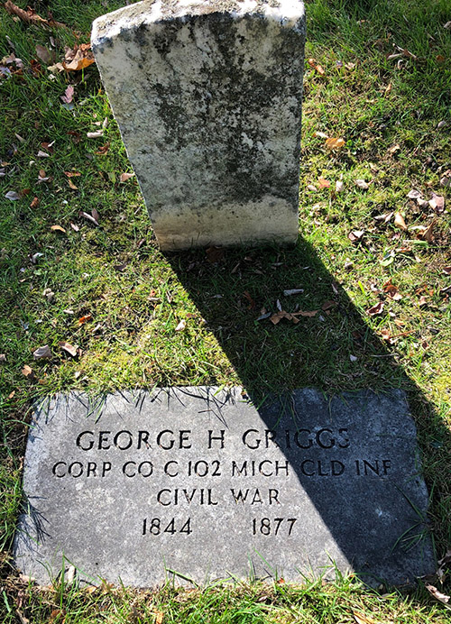 George C Griggs Memorial Elmwood IMG 7715web