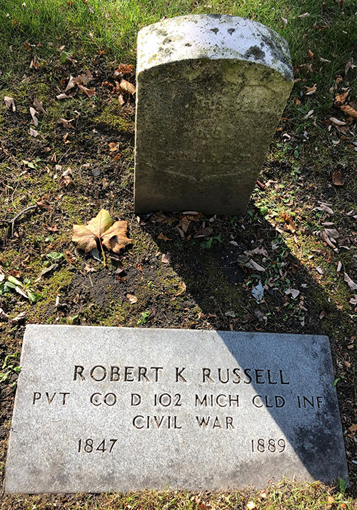 Robert K Russell Memorial Elmwood IMG 7701web