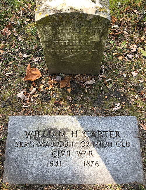 William H Carter Memorial Elmwood IMG 7702web
