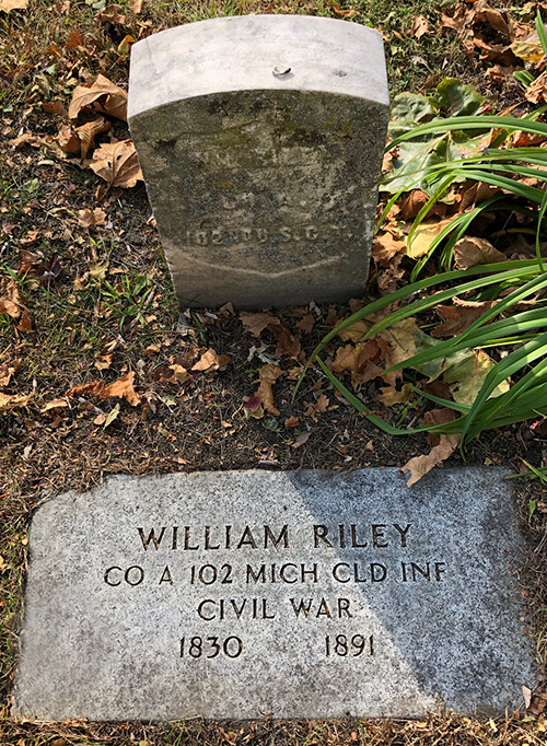 William Riley Memorial Elmwood IMG 7705web