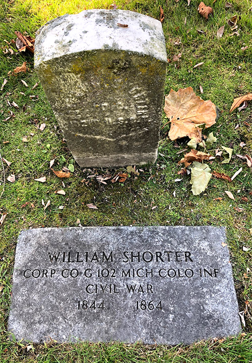 William Shorter Memorial Elmwood IMG 7716web